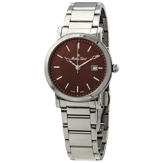 Mathey-Tissot City Metal Brown Dial Men's Watch HB611251MAM   Joma Shop