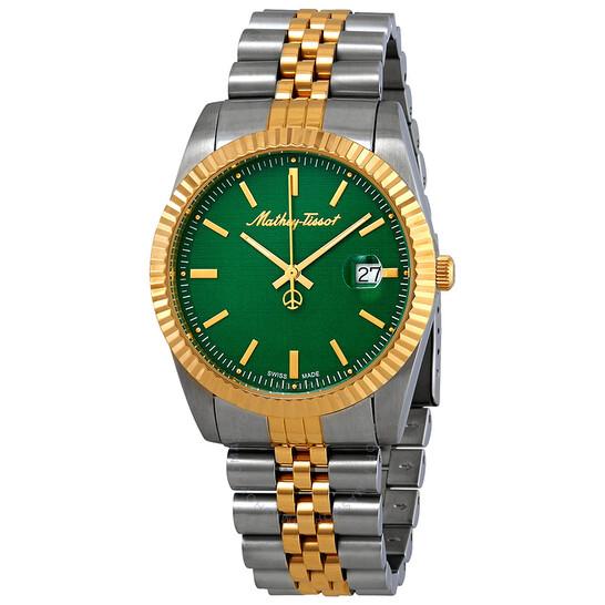 Mathey-Tissot Mathey III Quartz Green Dial Men's Watch H810BV | Joma Shop