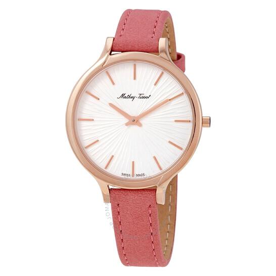 Mathey-Tissot Splash Quartz White Dial Ladies Watch D865PI | Joma Shop