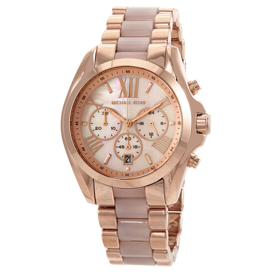 Michael Kors Bradshaw Chronograph Quartz Ladies Watch MK6830 | Joma Shop