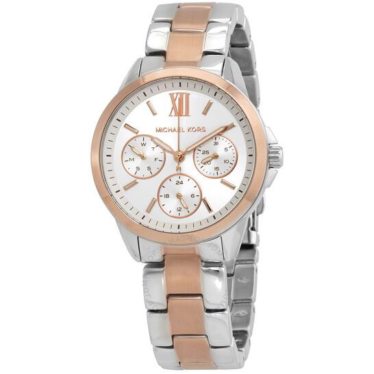 Michael Kors Bradshaw Quartz White Dial Ladies Watch MK6817   Joma Shop