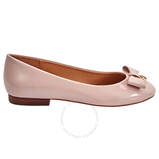 Michael Kors Ladies Aimme Ballet Flats in Nude Pink