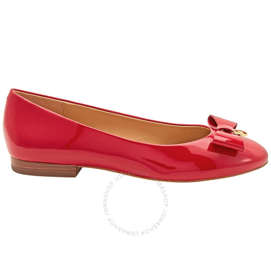 Michael Kors Ladies Aimme Ballet Flats in Red