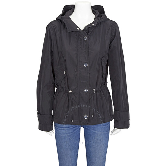 Michael Kors Ladies Black Nylon Anorak