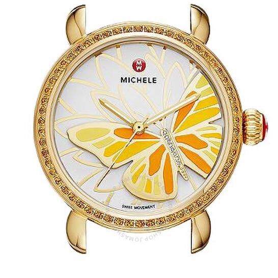 Michele Garden Party White Dial Ladies Watch (No Strap) MW05D41B0996 | Joma Shop