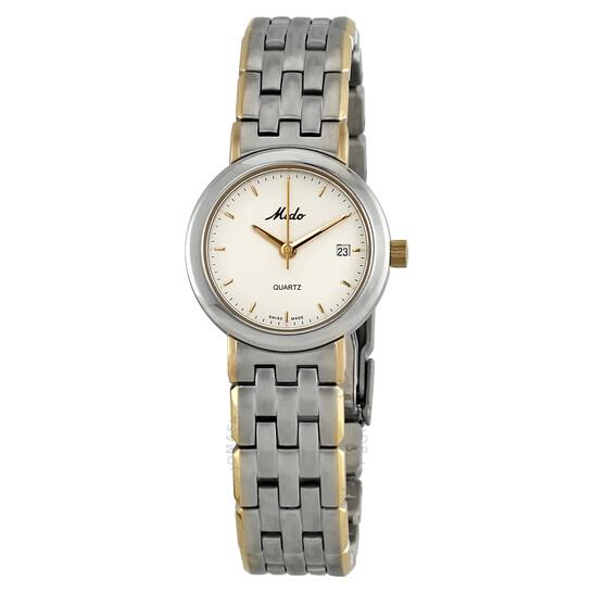 Mido Madison White Dial Ladies Watch M2465.9.16.1 | Joma Shop