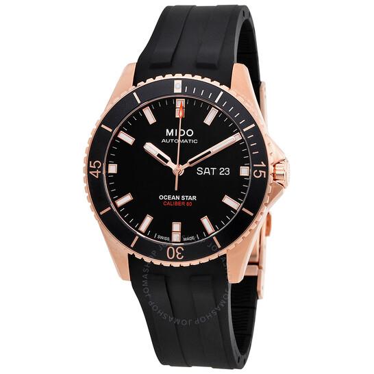 Mido Ocean Star Captain Black Dial Men's Watch M026.430.37.051.00 | Joma Shop