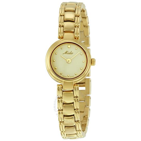 Mido Romantique Gold Dial Ladies Watch M2132.3.12.1 | Joma Shop