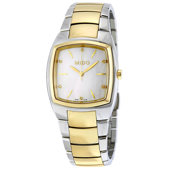 Mido Romantique Mother of Pearl Dial Ladies Watch M004.310.22.116.00   Joma Shop