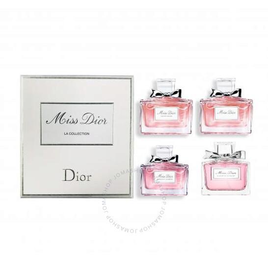 Christian Dior Miss Dior La Collection 4 x 5 ml/ 0.17 oz Miniature Set Women by Christian Dior   Joma Shop
