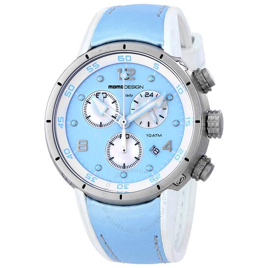 Momo Design Diver Pro Chronograph Ladies Watch 2205SS-61   Joma Shop