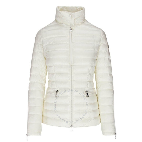Moncler Ladies Safre Jacket in White, Brand Size 0 | Joma Shop