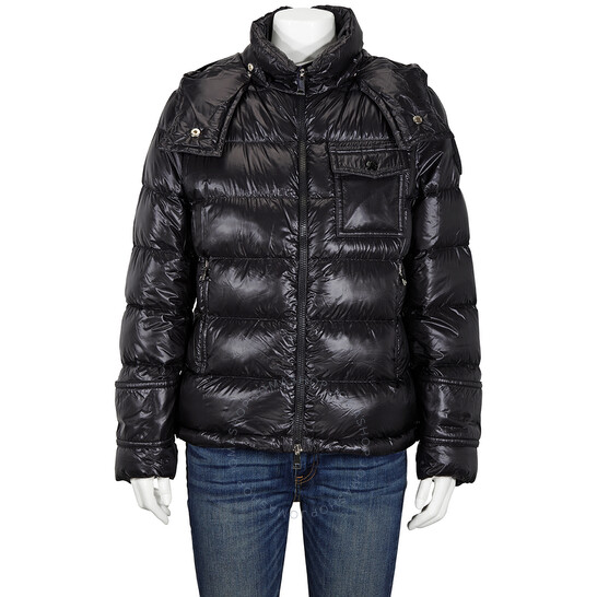 Moncler Ladies Turquin Padded Jacket in Black, Brand Size 1   Joma Shop