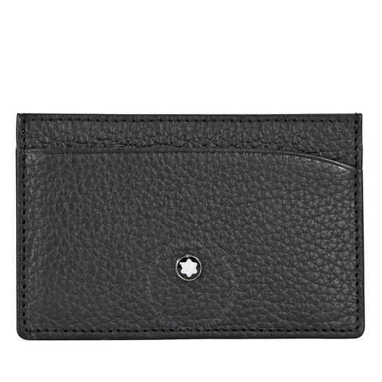 Montblanc Meisterstuck 3CC Pocket Holder - Black | Joma Shop