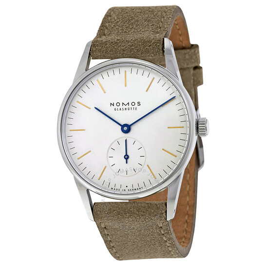 Nomos Orion 33 White Dial Stainless Steel Ladies Watch 322   Joma Shop