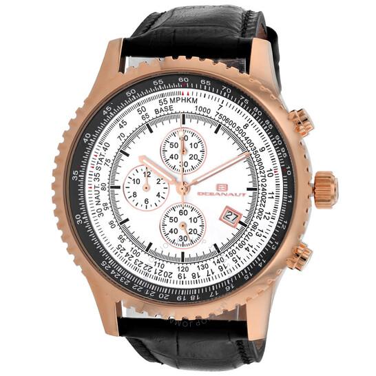 Oceanaut Actuator Chronograph Quartz Silver Dial Men's Watch OC0317 | Joma Shop