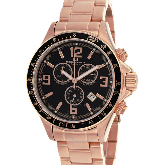 Oceanaut Baltica Chronograph Quartz Black Dial Men's Watch OC3329 | Joma Shop