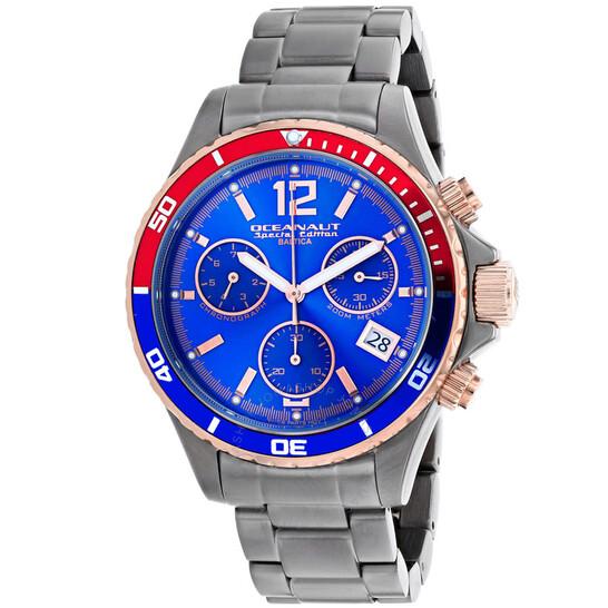 Oceanaut Baltica Special Edition Chronograph Quartz Blue Dial Men's Watch OC0533 | Joma Shop