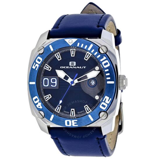 Oceanaut Barletta Blue Dial Men's Watch OC1342 | Joma Shop