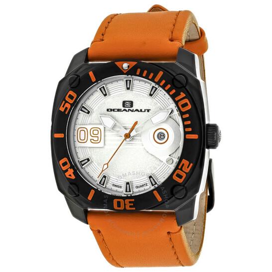 Oceanaut Barletta Quartz Silver Dial Men's Watch OC1344 | Joma Shop
