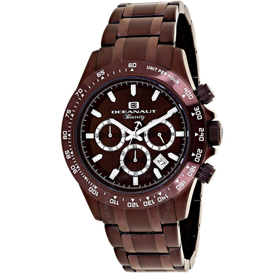 Oceanaut Biarritz Chronograph Quartz Brown Dial Men's Watch OC6116 | Joma Shop
