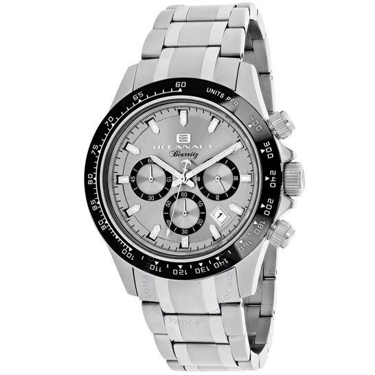 Oceanaut Biarritz Chronograph Quartz Silver Dial Men's Watch OC6110   Joma Shop