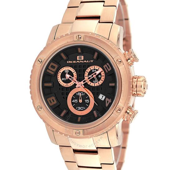 Oceanaut Impulse Chronograph Quartz Black Dial Men's Watch OC3122 | Joma Shop