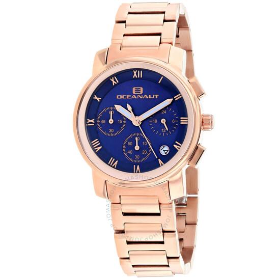 Oceanaut Riviera Chronograph Quartz Blue Dial Ladies Watch OC0635 | Joma Shop