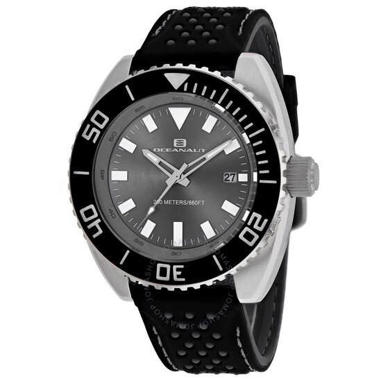 Oceanaut Submersion Quartz Grey Dial Men's Watch OC0520 | Joma Shop