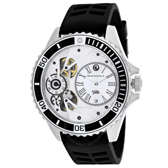 Oceanaut Tide Silver-tone Dial Men's Watch OC0990   Joma Shop