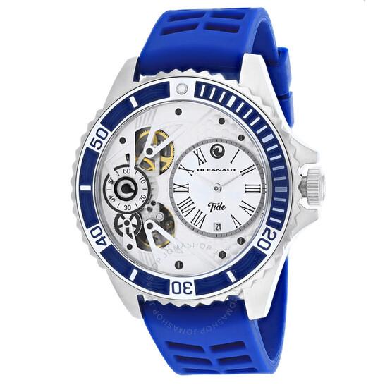 Oceanaut Tide Quartz Silver Dial Men's Watch OC0992 | Joma Shop