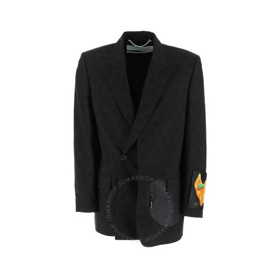 Off-White Black / Multi Black Wool Blazer