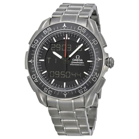 Omega Speedmaster Skywalker X-33 Black Dial Titanium Men's Watch 31890457901001   Joma Shop
