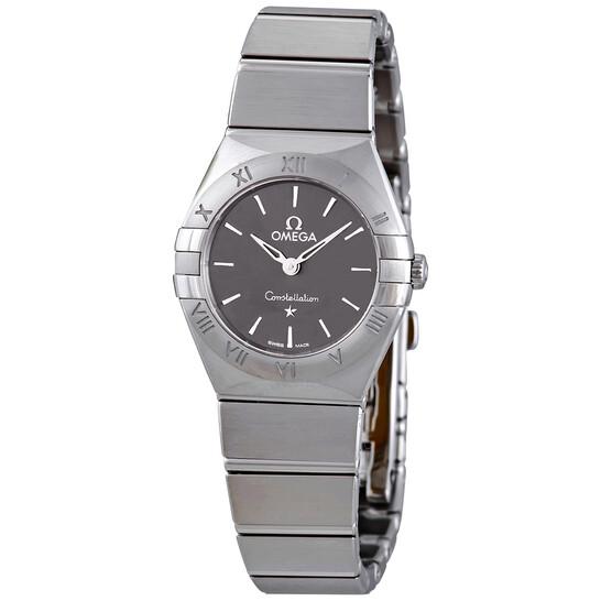Omega Constellation Quartz Grey Dial Ladies Watch 131.10.25.60.06.001 | Joma Shop