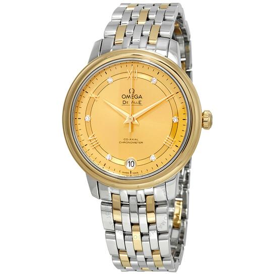 Omega De Ville Automatic Diamond Ladies Watch 424.20.33.20.58.002 | Joma Shop