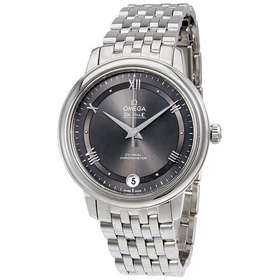 Omega De Ville Automatic Grey Dial Ladies Watch 424.10.33.20.06.001   Joma Shop
