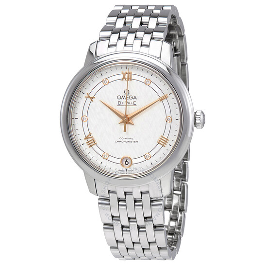 Omega De Ville Prestige Automatic Silver Dial Ladies Watch 424.10.33.20.52.001 | Joma Shop