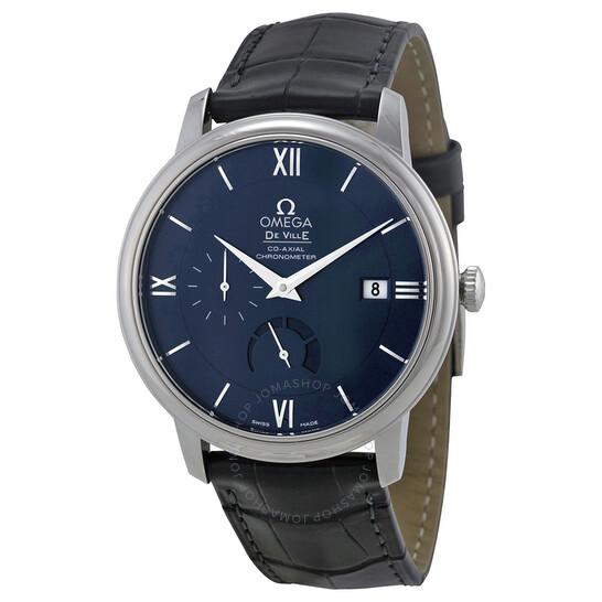 Omega De Ville Prestige Blue Dial Men's Watch 424.13.40.21.03.001   Joma Shop