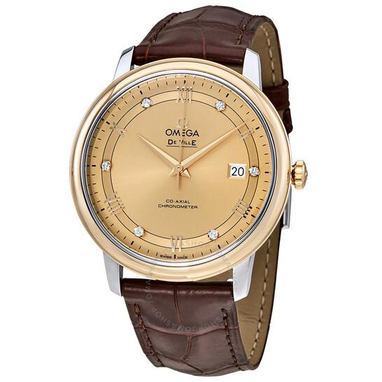 Omega De Ville Prestige Co-axial Automatic Men's Watch 424.23.40.20.58.001 | Joma Shop