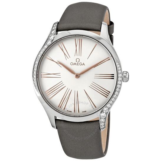 Omega De Ville Tresor Silver Dial Unisex Watch 428.17.39.60.02.001 | Joma Shop