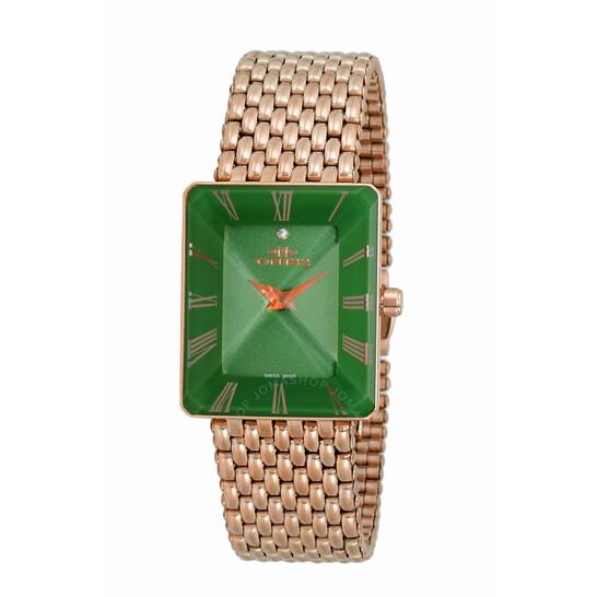 Oniss ON4242 GreenDial Ladies Watch ONJ4242-033RGGN | Joma Shop