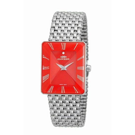 Oniss ON4242 Red Dial Ladies Watch ONJ4242-011RD | Joma Shop