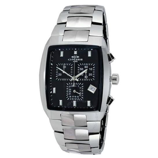 Oniss ON5900-T Black Dial Men's Watch ONJ5900-011BK   Joma Shop