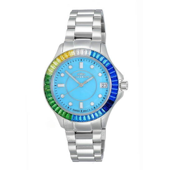 Oniss ON7323 BlueDial Ladies Watch ONJ7323-070BU-BUSC   Joma Shop