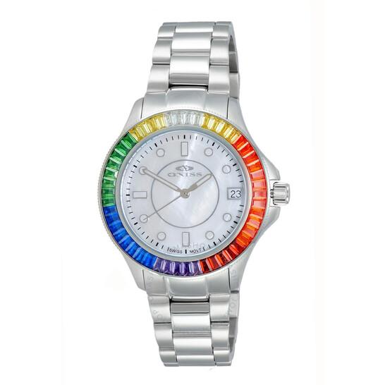 Oniss ON7323 WhiteDial Ladies Watch ONJ7323-060WT-RDSC | Joma Shop
