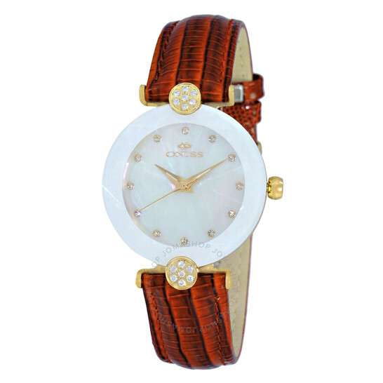 Oniss ON8776MOP White Dial Ladies Watch ONJ8776-0LGWT | Joma Shop