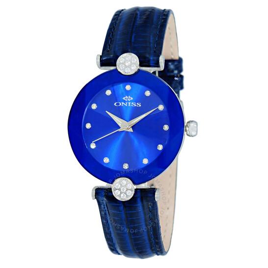 Oniss ON8776S Blue Dial Ladies Watch ONJ8776-0LBU   Joma Shop