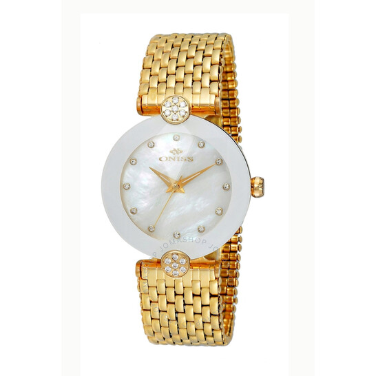 Oniss ON8777MOP White Dial Ladies Watch ONJ8777-0LGWT | Joma Shop