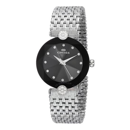 Oniss ON8777S Black Dial Ladies Watch ONJ8777-0LBK | Joma Shop