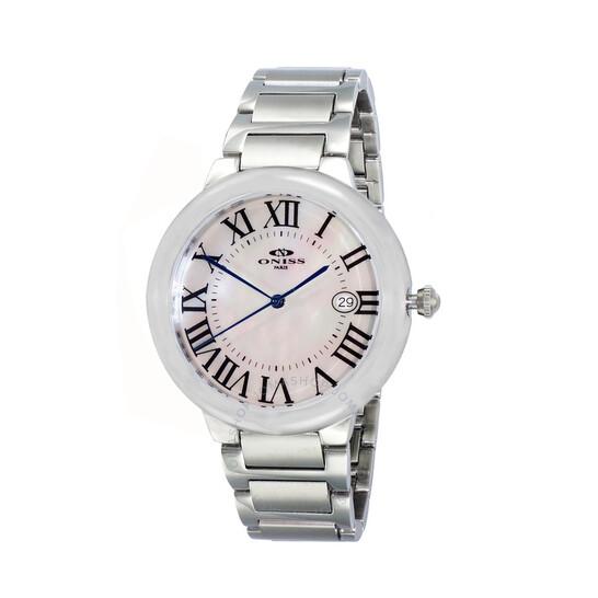 Oniss ONJ1111 White Dial Ladies Watch ONJ1111-0LWT   Joma Shop